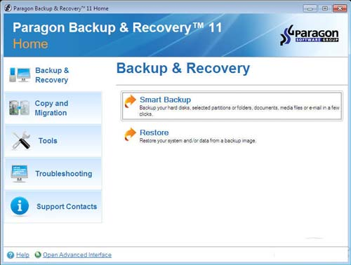 Paragon Backup and Recovery 2012 review