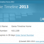 Genie Timeline Home 2013 Review